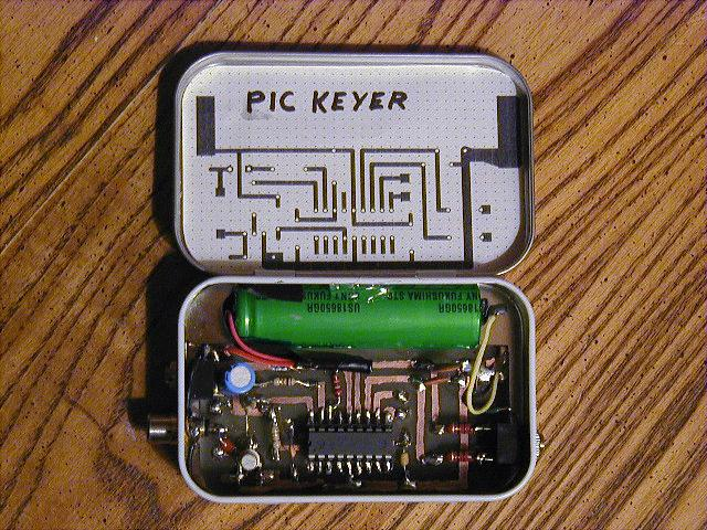 iambic keyer paddle homemade